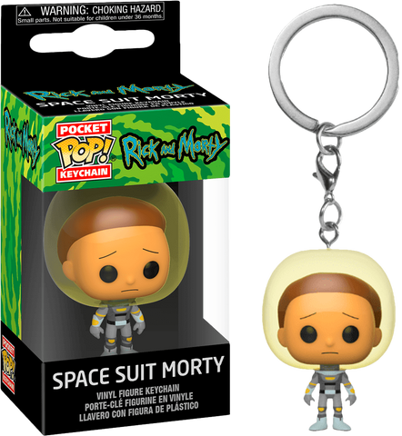 Rick and Morty - Space Suit Morty figura intera