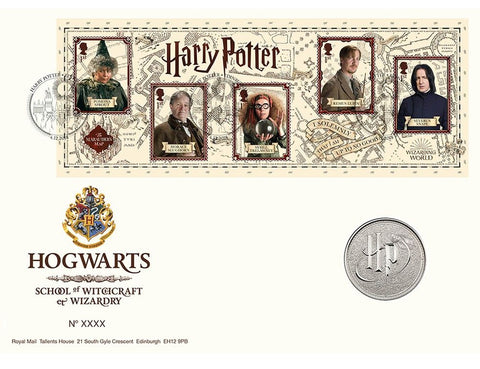 Harry Potter - Limited Edition Hogwarts Medal Cover