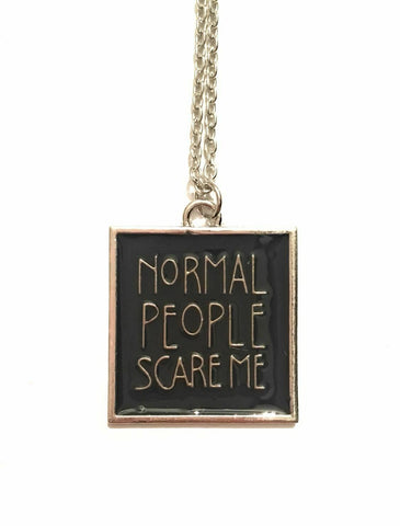 "American Horror Story - Collana ""Normal People Scare Me"""