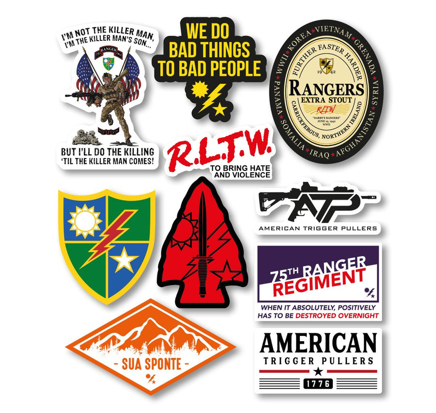 Ranger Sticker Pack