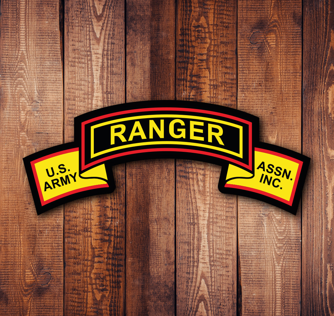 USARA Ranger Scroll Sticker