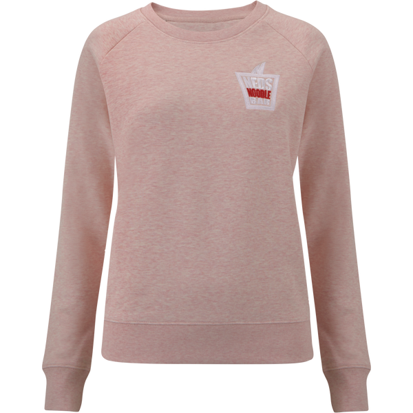 Women's Pink Sweatshirt with embroidered logo - Very Limited Edition