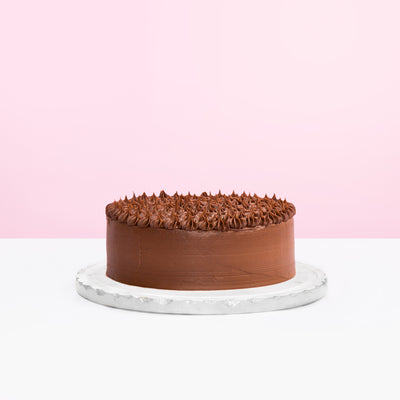 Chocolate Ganache with Yema Filling