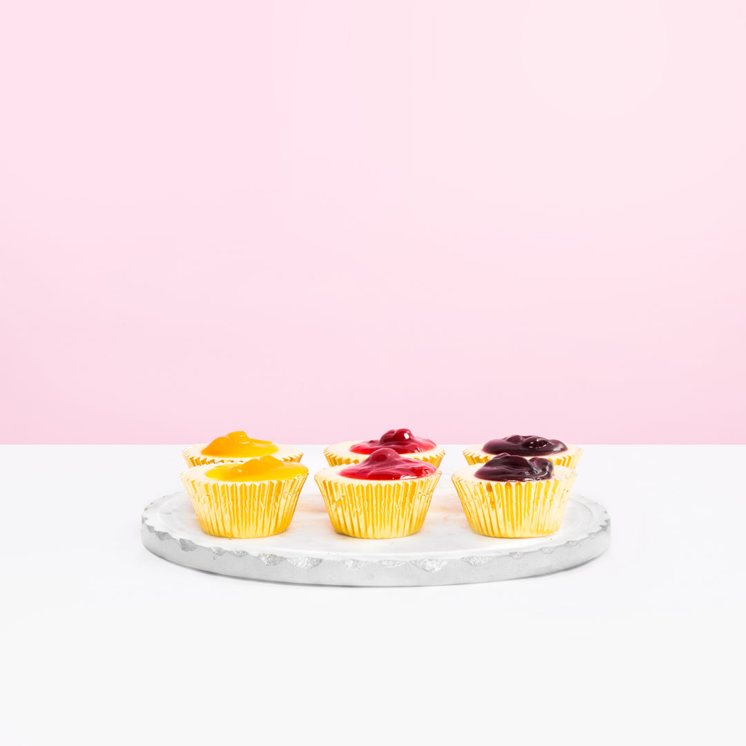 6 pieces Assorted Mini Cheesecakes
