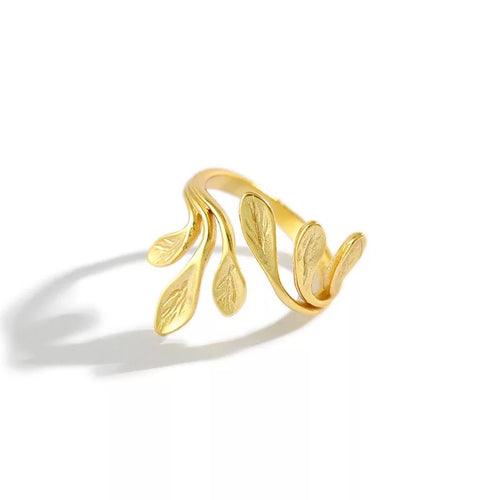 The Leaf Ring - Ibeauty By Halz