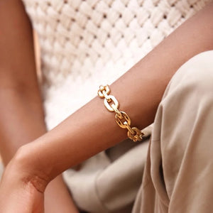 Link Chain Cuff - Ibeauty By Halz