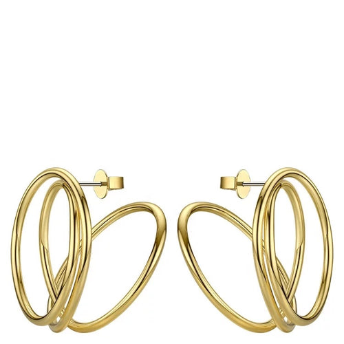 Sienna 18K Gold Earrings - Ibeauty By Halz
