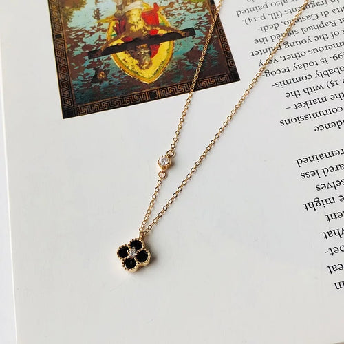 Four Leaf Clover Necklace - Ibeauty By Halz