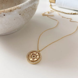 Roman Numerals Necklace - Ibeauty By Halz
