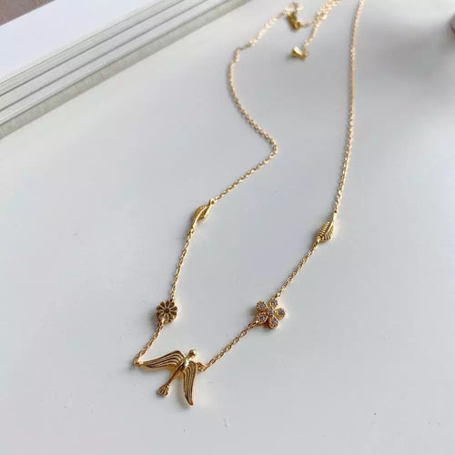 Flying Bird Necklace - Ibeauty By Halz