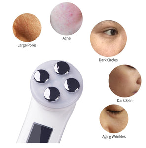 Facial 5-in-1 RF LED Wand - Ibeauty By Halz