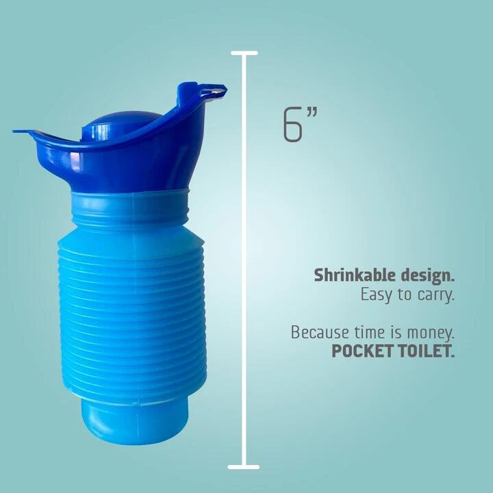 Pocket Toilet - Your Bathroom In The Car