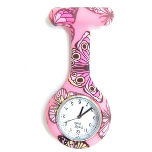 Butterfly Analogue Silicone Fob Watch