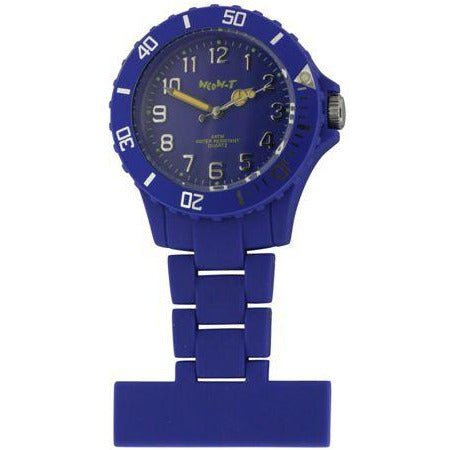 Neon Fob Watch - Dark Blue