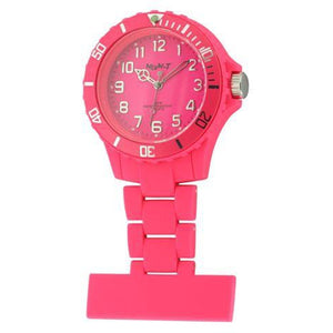 Neon Fob Watch - Hot Pink