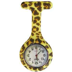 Cheetah Analogue Silicone Gel Silicone Fob Watch