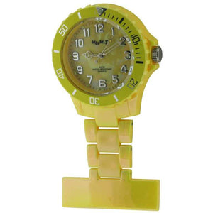 Neon Pearl Yellow Fob Watch