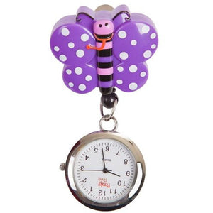 Butterfly Retractable Pull Reel with Watch