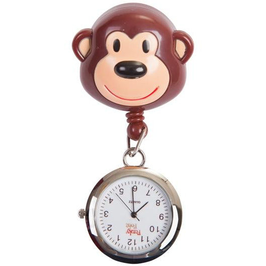 Monkey Retractable Pull Reel with Watch