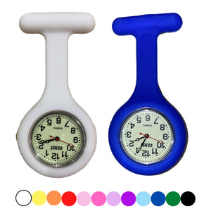 Silicone Fob Watch Analogue with Luminous Dial