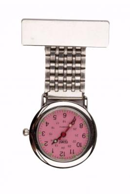 Pearly Pink Dial Classic Fob Watch