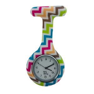 ZigZag Analogue Silicone Fob Watch