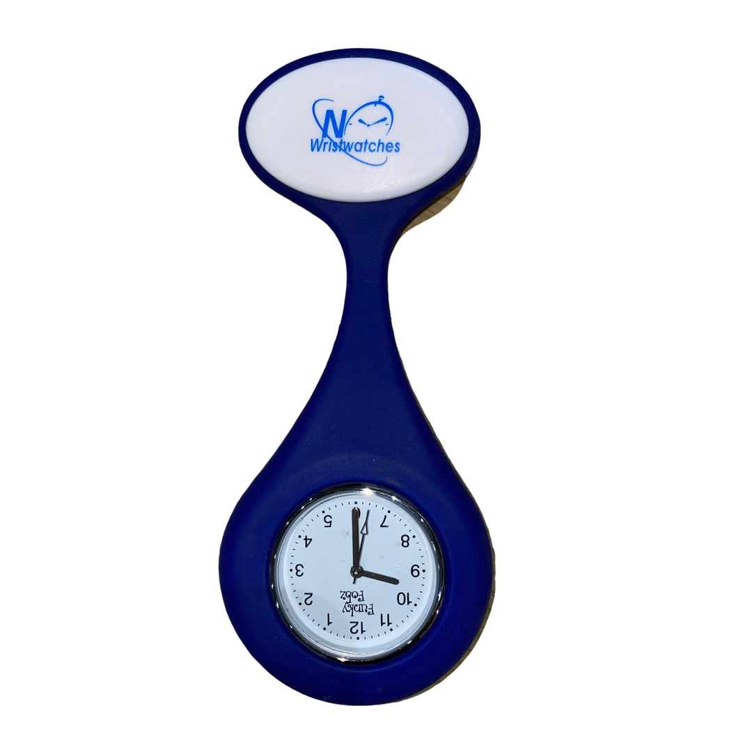 Silicone Badge Fob Watch