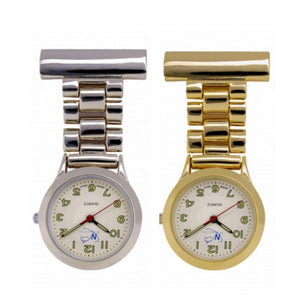 Classic Style Fob Watch Silver or Gold