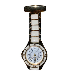 Henley White & Gold Fob Watch