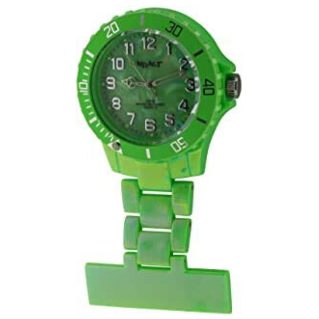 Neon Pearl Green Fob Watch