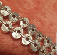 Jewelry- Natural Moonstone Sterling Silver Bracelet