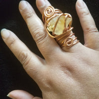 Jewelry- Custom Copper Wrap Rings