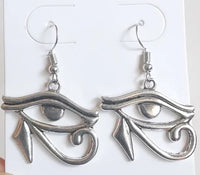 Kemetic Jewelry Eye of Horus earrings