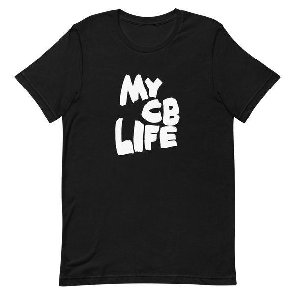CB Life Black and White Tee