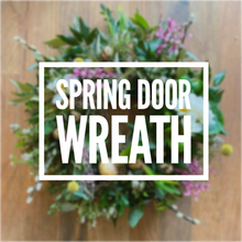 Load image into Gallery viewer, Spring Door Wreath