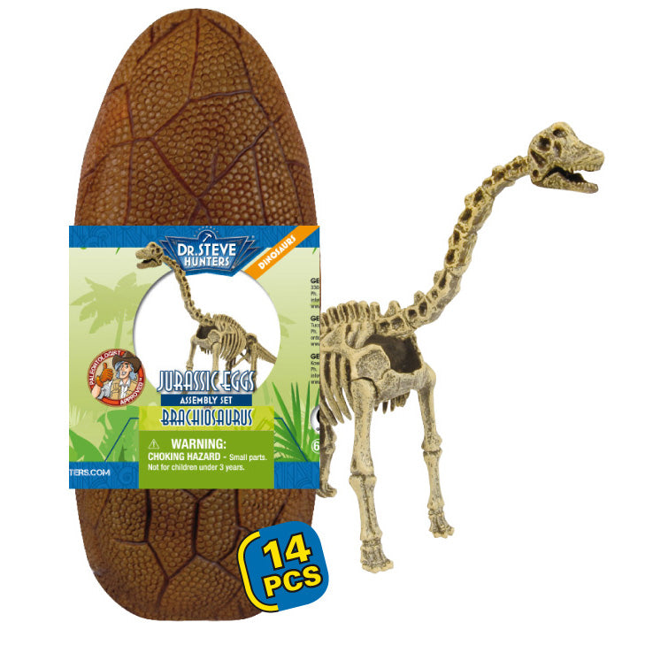 Geoworld Jurassic Eggs Brachiosaurus Skeleton Assembly Set