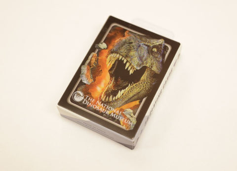 Dinosaur Playing Cards - 3D