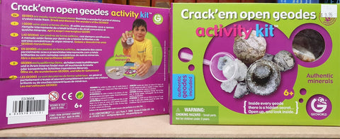 Geode Cracking Activity Kit