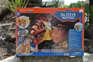 Dr. Steve Hunters  – Dig and Discover – Amber Treasures