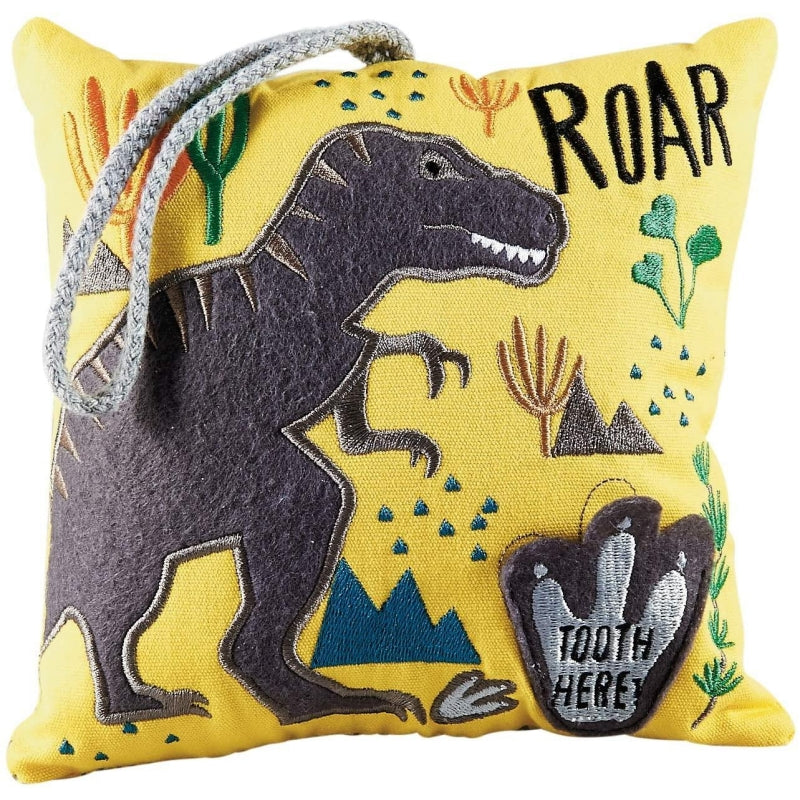 Dinosaur Tooth-Fairy Pillow