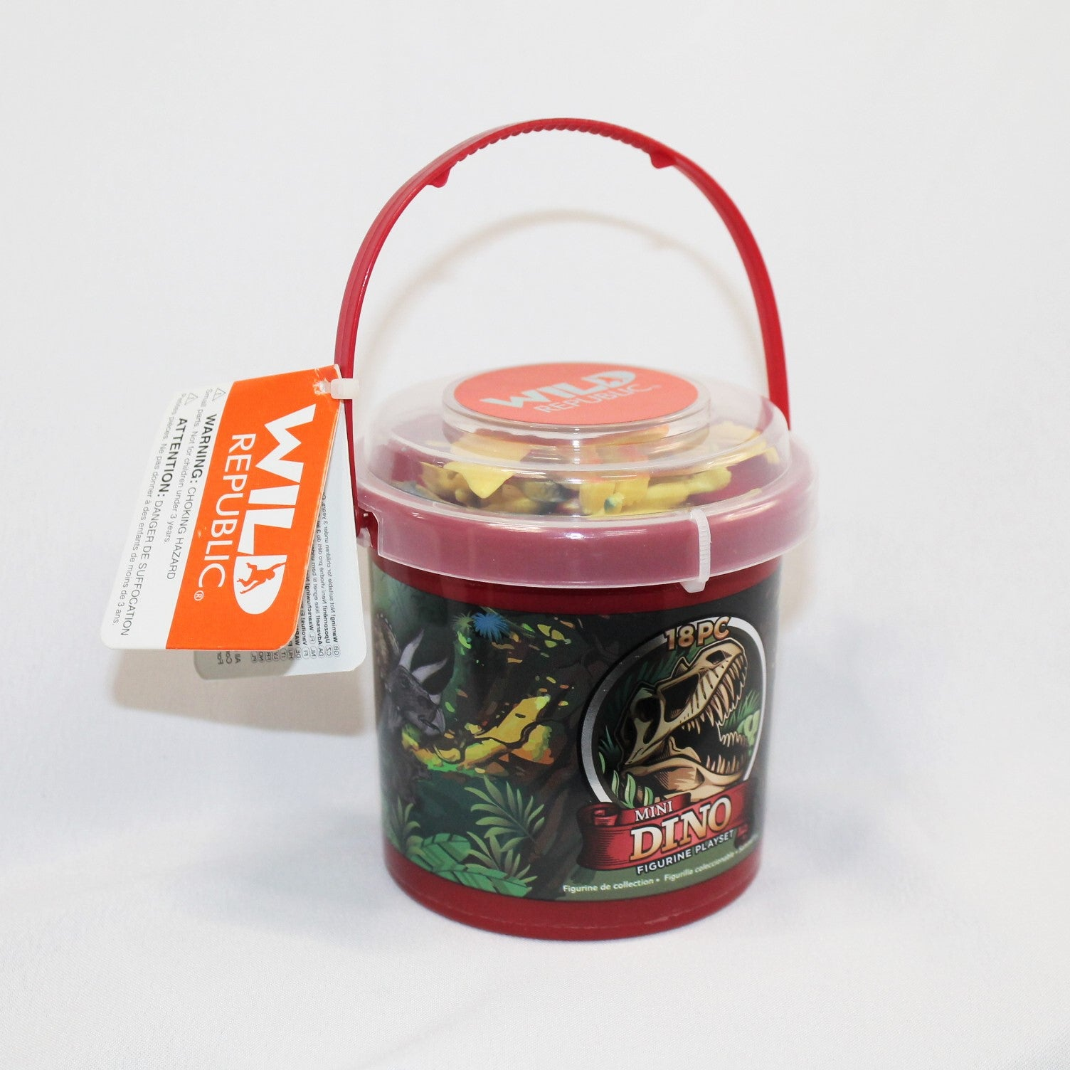 Mini Bucket of Dinosaurs!