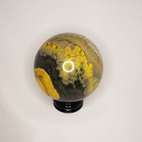 Bumble Bee Jasper - Sphere