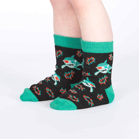 Jawsome Toddler Crew Socks