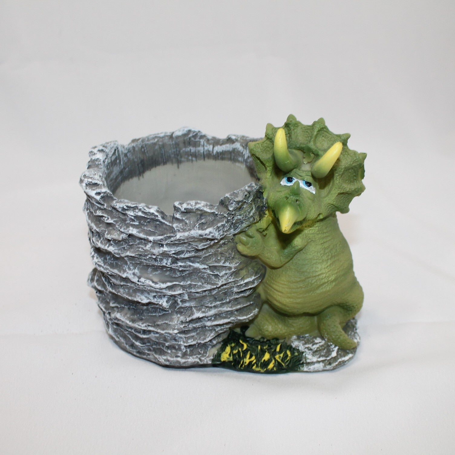 Triceratops Flower Pot