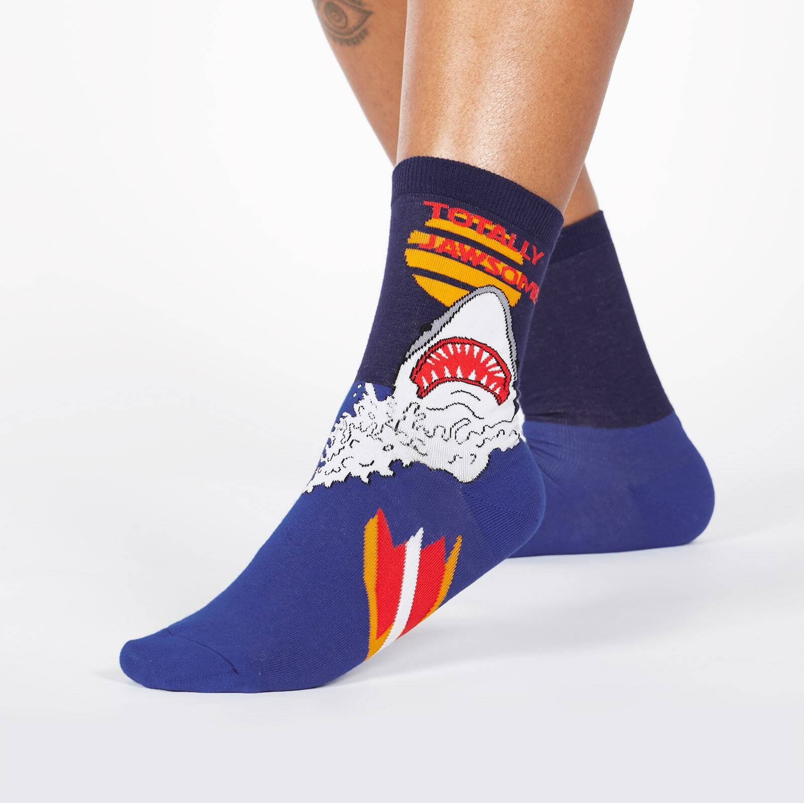 Totally Jawsome! Crew Socks