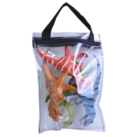 T-Rex Dinosaur Polybag Zip Bag