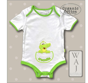 Crocodile Baby Body Suit