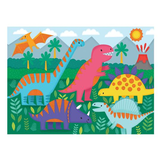 Dinosaurs Fuzzy Puzzle