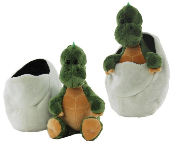 Dino Baby in Egg Plush (3 Variants)