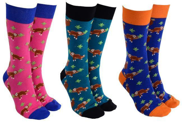 Sloths Socks - Adult - 3 Colours available